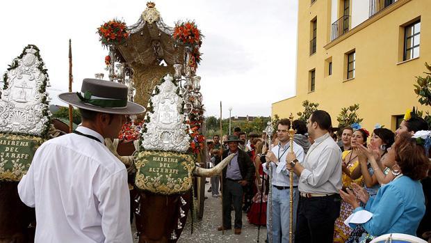 Simpecado de la Hermandad del Rocío de Mairena del Aljarafe