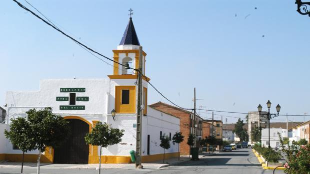 Imagen de una vía pública del municipio de Isla Mayor