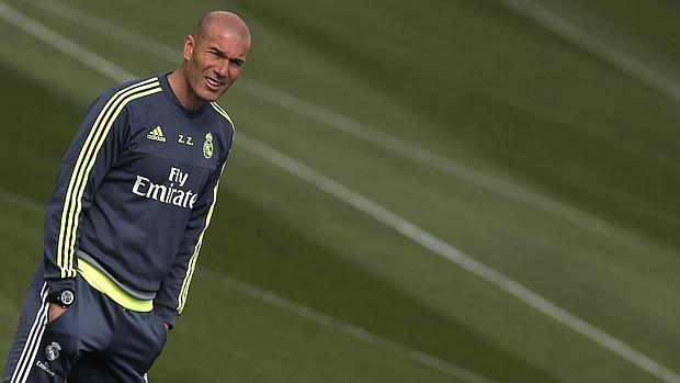 Zidane conoció el sorteo de Champions en plena sesión previa a la visita al Getafe