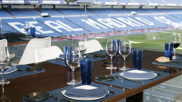 Restaurante Real Café del estadio Santiago Bernabéu