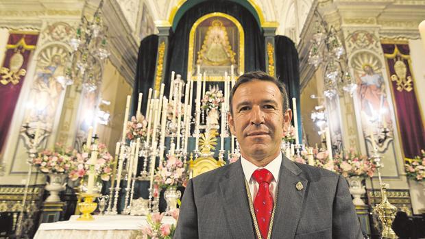 José María Acosta, hermano mayor de la Hermandad Matriz