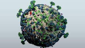 El 'corta pega' genético fabrica células inmunes al VIH