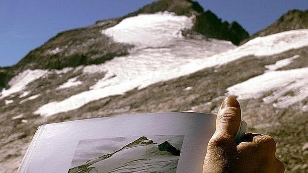Cambios en el glaciar del Aneto por causa del calentamiento global