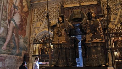 El monumento de Colón