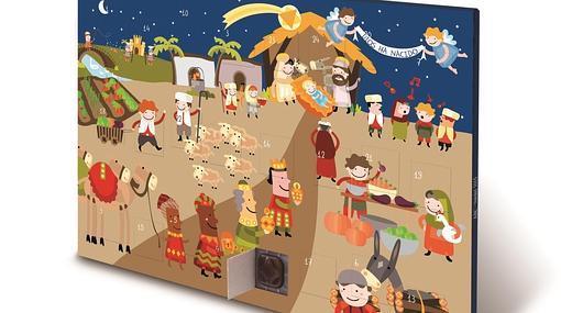 Abc trae un dulce calendario de adviento para los ni os for Calendario adviento ninos