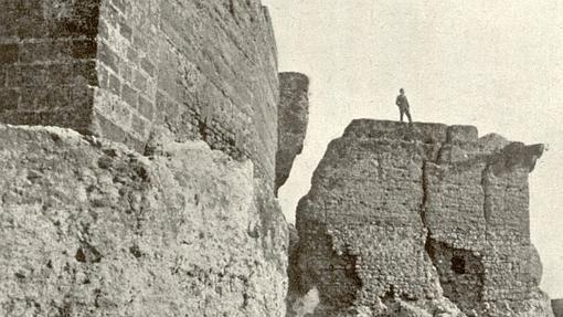 Caída de parte del Alcázar de Carmona producida en 1504