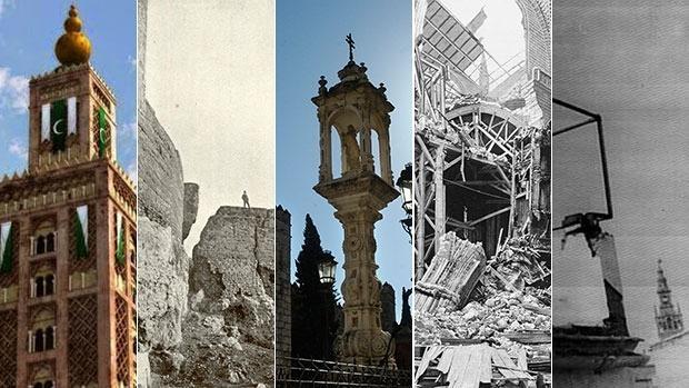 Cinco imágenes simbólicas de los terremotos que ha sufrido Sevilla en su historia