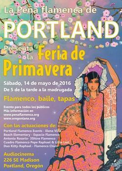 Cartel de la Feria de la Primavera 2016