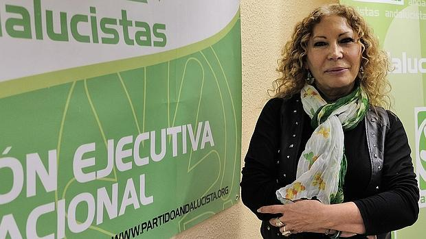 Pilar Távora, quien fuese candidata del PA a la Alcaldía de Sevilla