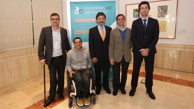 Luis Leardy, Pablo Tovar, Javier Inclán, Alberto Bueno y Álvaro Ferrol
