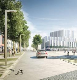 Edificio que han diseñado en Polonia