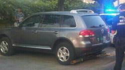 El vehículo que conducía el detenido