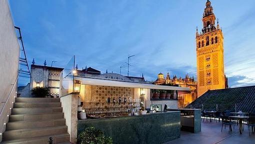 Los mejores miradores de sevilla - Terraza hotel eme ...