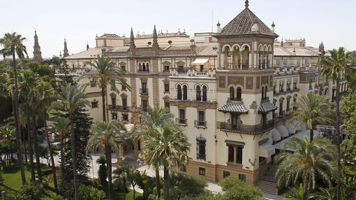 Vista del hotel Alfonso XIII