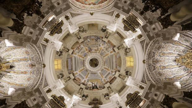 La majestuosa cúpula de la iglesia de San Luis de los Franceses
