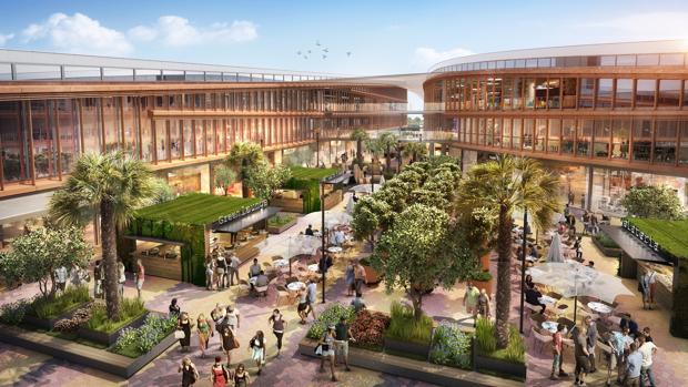 Comienzan las obras para el nuevo centro comercial junto a - Centre comercial la illa ...