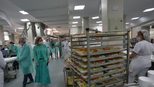 Ya Se Encienden Los Fogones Del Hospital Virgen Macarena