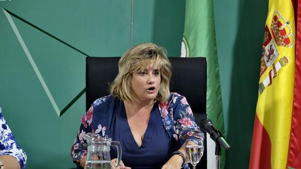 Francisca Aparicio, delegada provincial de Educación