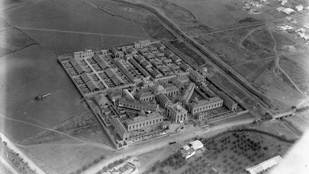 Imagen aérea del antiguo Matadero (1926)