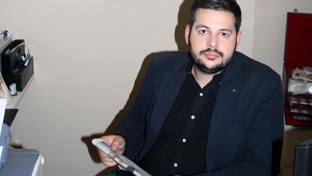 Rubén Pulido, responsable de Pulifil, empresa líder en el ámbito de la numismática