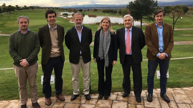 Junta directiva de la Confederación Española de Campos de Golf