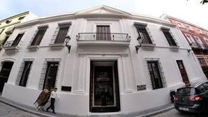 Fachada del hotel de cinco estrellas Mercer, en la calle Castelar