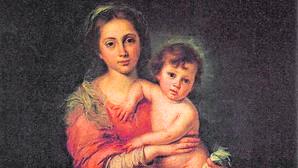 «La Virgen con el Niño» es una de las obras más conocidas del pintor sevillano