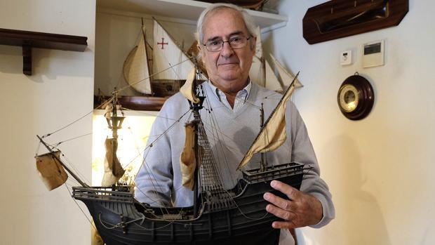 Ignacio Fernández Vial, diseñador de barcos históricos para travesías y navegaciones transoceánicas