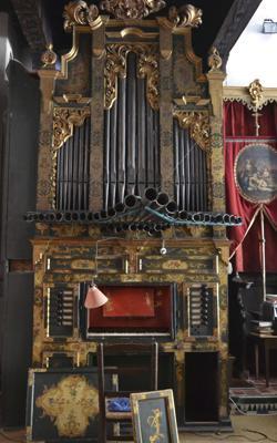 El órgano restaurado