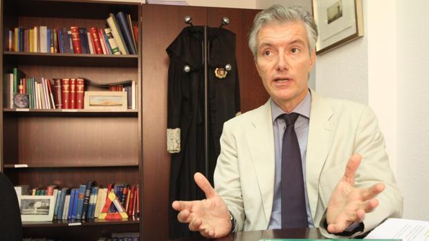 Javier Rufino, fiscal de Medio Ambiente ROCÏO RUZ