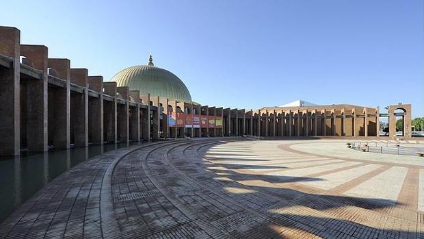 El palacio de congresos de Sevilla