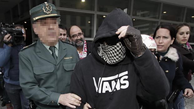 El Cuco, durante una visita a los juzgados en una imagen de archivo