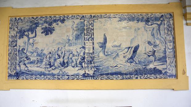 Moisés y la serpiente de bronce y Jonás y la ballena