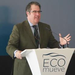 Gragorio Serrano, en las jornadas «Ecomueve»