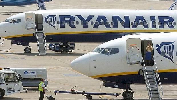Vuelos de Ryanair, una de las compañías de bajo coste más conocidas