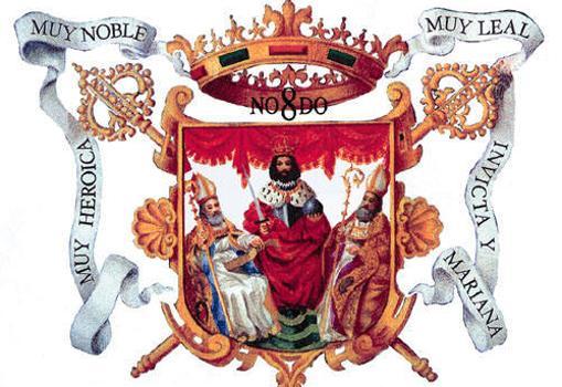 El escudo de la ciudad de Sevilla