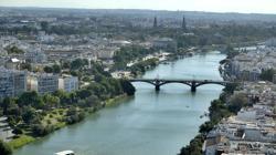 Vistas que podrán contemplarse desde el hotel Eurostars Torre Sevilla