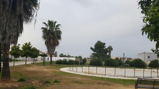 Parcela de Villanueva del Ariscal objeto del litigio