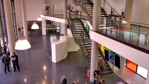 Instalaciones de la nueva biblioteca de la Hispalense