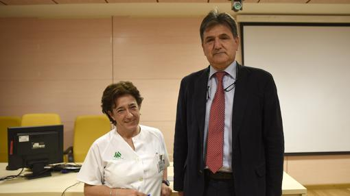 Pilar García y Francisco Esteban