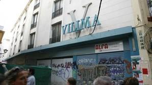 Edificio de Vilima, situado en la confluencia de las calles Puente y Pellón, Acetres, Lineros y Buiza y Mensaque