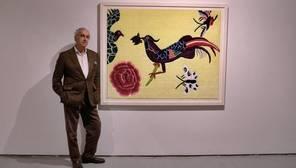 El galerista y gestor cultural sevillano Pepe Cobo