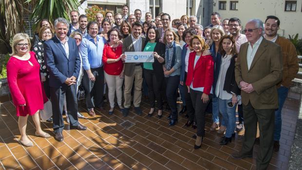 El acto de presentación de la candidatura de Virginia Pérez reunió a unos 40 militantes del PP
