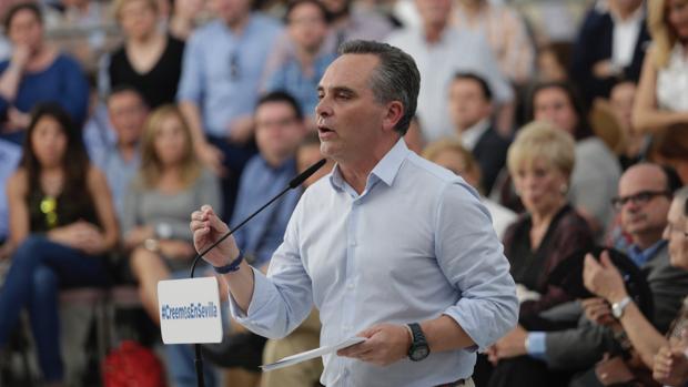 Acto de presentación de la candidatura de Juan Bueno para presidir el PP de Sevilla