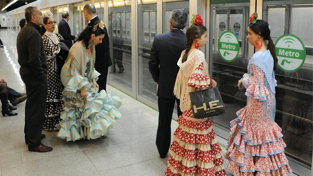 La plantilla de Metro de Sevilla convoca una huelga durante la Feria de Abril de Sevilla 2017