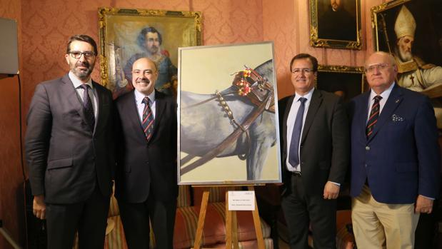 Miguel Bazaga, José Juan Morales, Juan Carlos Cabrera y Ramón Moreno de los Ríos