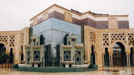 Pabellón de Marruecos, sede de la Fundación Tres Culturas