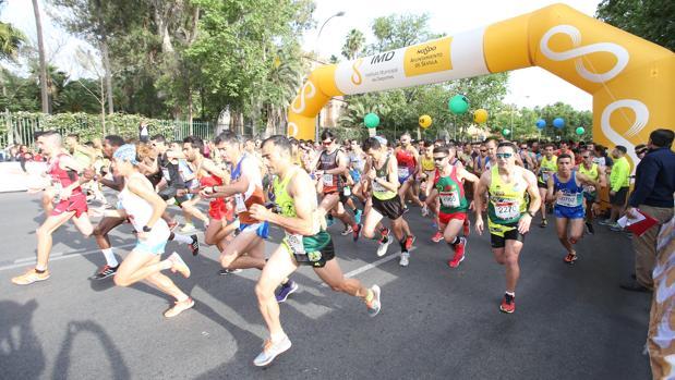 Récord de participación en la Carrera Popular del Parque