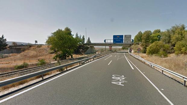 Detenido en la A-92 sentido Sevilla con 25 kilos de hachís en el maletero