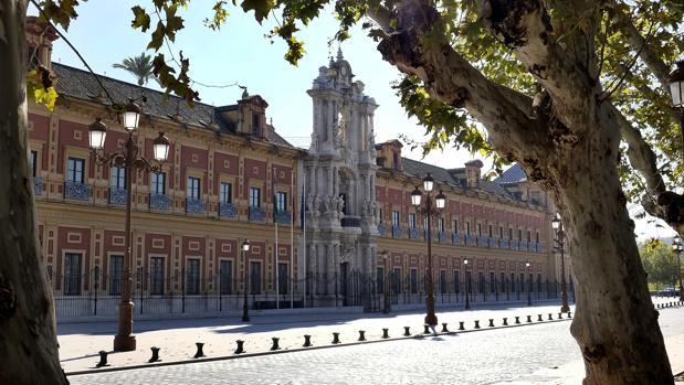 La actual sede del Gobierno andaluz fue antigua Universidad de Mareantes de San Telmo